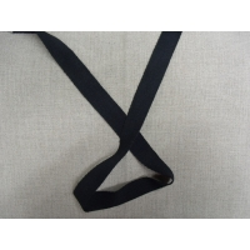 ruban sergé-2cm- noir