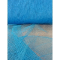 TULLE RIGIDE COULEUR TURQUOISE