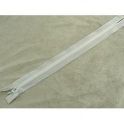 bouton acrylique a 2 trou-26mm- blanc/gris