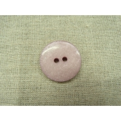 bouton acrylique à 2 trou- 26mm- parme