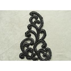 Boutons décoratifs enfant - TETE DE CHAT A FLEUR ROSE