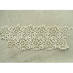 Ruban doré et argenté effet strass - photo de présentation