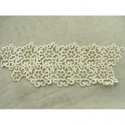 Ruban effet strass- 25mm- doré