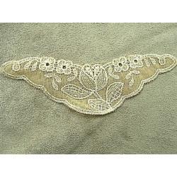 Ruban pailleté strass serpenté-2cm- rouge