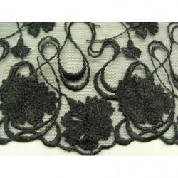 bouton transparent à 2 trou  nacré crème