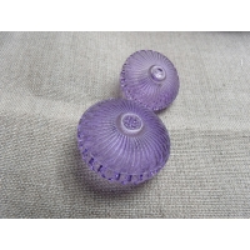 bouton violet  transparent