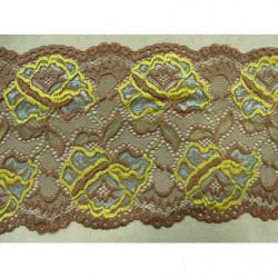 bouton fleur argent et blanc
