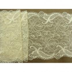 bouton marron perlé