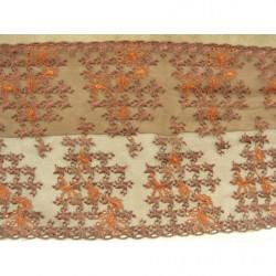 bouton beige à 2 trous