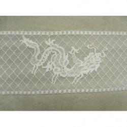 COLS PERLES-Applique plastron à coudre paillettes et perles