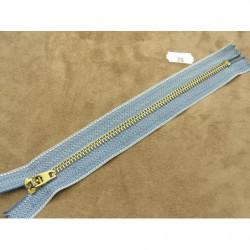 FERMETURE A GLISSIÈRE NON SÉPARABLE –18cm- BLEU ROI