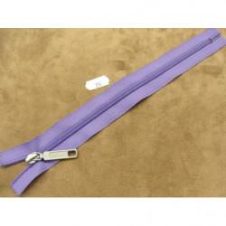 FERMETURE A GLISSIÈRE NON SÉPARABLE –18cm- BLEU GRIS