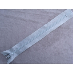 FERMETURE A GLISSIÈRE NON SÉPARABLE -18cm-BLEU DRAGEE