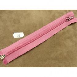 FERMETURE A GLISSIÈRE NON SÉPARABLE – 18cm-- ROUGE ALIZARINE