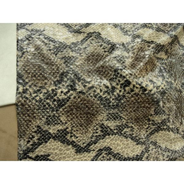 tissu ska simili cuir python mercerie creative deco. Black Bedroom Furniture Sets. Home Design Ideas