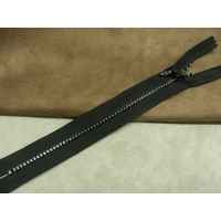 FERMETURE A STRASS- 20 cm- NOIR