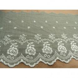 FERMETURE METALIQUE- 18 cm- BEIGE