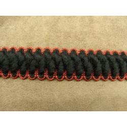 FERMETURE METALIQUE-20 cm- MARRON CLAIR