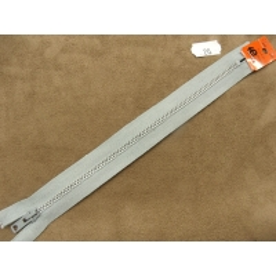 FERMETURE METALIQUE- 20 cm- GRIS CLAIR