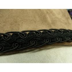 FERMETURE METALIQUE- 15cm- JAUNE