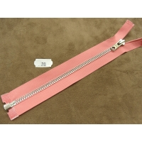 FERMETURE SEPARABLE-20 cm- ROSE