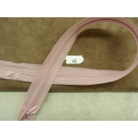 FERMETURE INVISIBLE- 45 cm- ROSE PALE