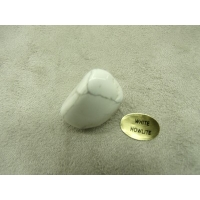 PIERRE MOTIF OVER WEIGHT - WHITE HOWLITE