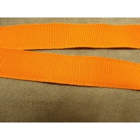 RUBAN GROS GRAIN DÉCORATIFS  -2 cm- ORANGE