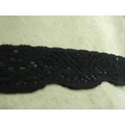 Ruban sangle- 2cm - vert et blanc