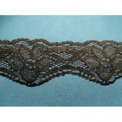 ruban style sangle- 2cm- noir/rouge et vert