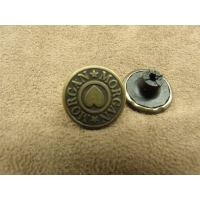 BOUTON JEAN 'S - 17 mm -  MORGAN BRONZE