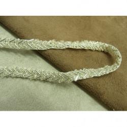 Frange NOIRE  en polyester -5 cm