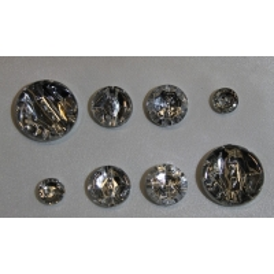 bouton strass acrylique-photo de présentation