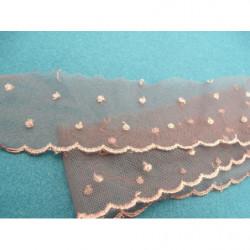 tissu coton imprimé fleurs marron multicolore