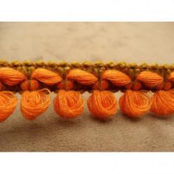 tissu coton imprimé- Papillon MULTICOLORE- sur fond vert