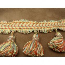 Tissu crêpe jaune en forme d'étoile noir