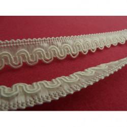 tissu coton imprimé saumon clair étoile marron