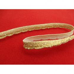 BOUTON motif petite fleur- rose pale