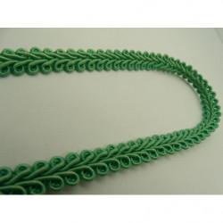 bouton motif fleur 18 mm- bleu ciel