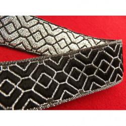 ruban sergé- 15 mm- beige