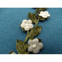 ruban sergé - 15 mm- violet