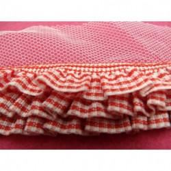 ruban sergé- 15 mm- rose pale
