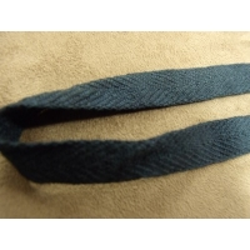 ruban sergé- 15 mm- bleu marine