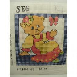 ruban blanc  , 28 fleurs, perlé et strass, 3,5 cm, idéal pour customisation et décoration