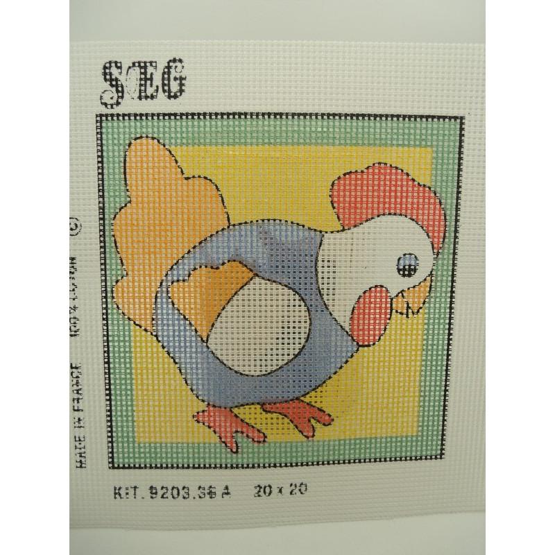 ruban pâquerette,  perle centrale blanche,  fleur brodées, 3,5 cm