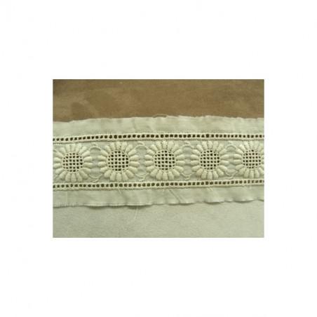 dentelle blanche, 14 cm , idéal  pour  customiser un vêtement, une robe,chemisier, sac, pochette, lingerie