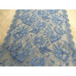 ruban indien,  7 cm, bleu et or