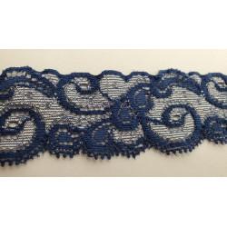 Frange blanche en polyester -15cm