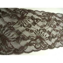 ruban frange viscose noir, 4,5 cm, parfait pour customiser un vêtement, robe ,tee shirt ,ou un objet ,chapeau ,sac
