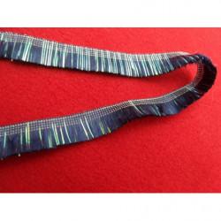 Ruban satin deux faces- gris- 10mm